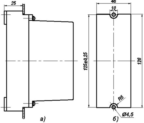 ПЭ40-46 - габаритные размеры