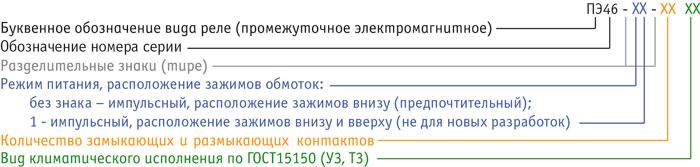 ПЭ46, ПЭ46-1 - типоисполнения