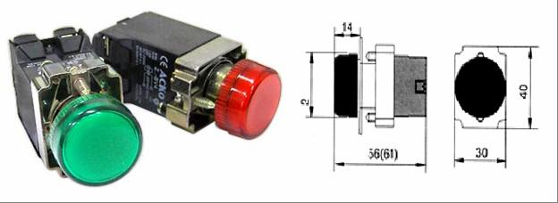 Электросервис,044-501-37-45,Сигнальная арматура XB2-BV