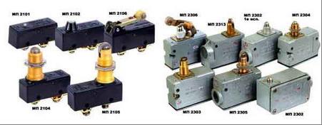 Электросервис,044-501-37-45,Микровыключатели серии МП2000